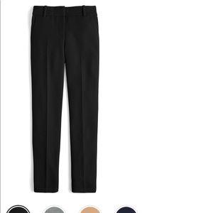 J crew Cameron 4 season crop size 00 black pant